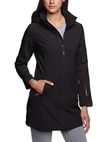 Details für neue angebote zuverlässige Leistung CMP – F.lli Campagnolo Damen Mantel Softshell, Nero, 38, 3A08326