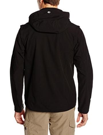 ICEPEAK Herren Softshell Jacket Leonidas, Black, L, 557805682I - 2