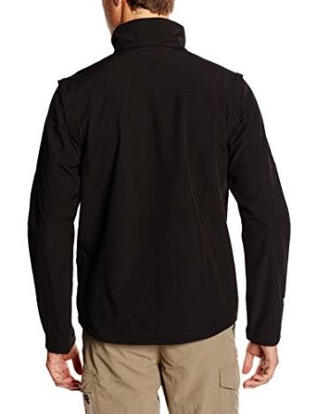 ICEPEAK Herren Softshell Jacket Leonidas, Black, L, 557805682I - 3