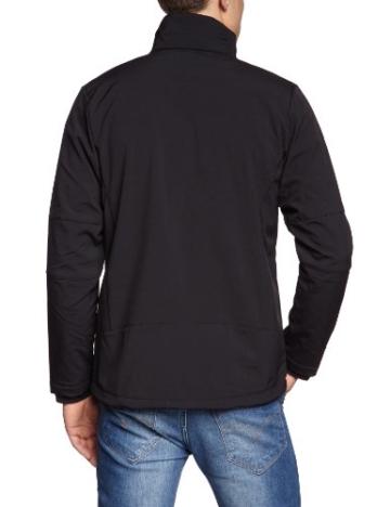 CMP Herren Softshell Jacke, schwarz U901, XXXL 3A40537 - 3