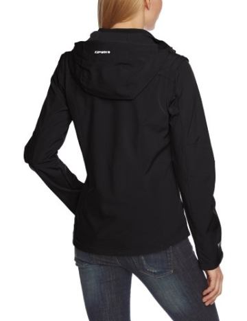 ICEPEAK Damen Softshell Jacket Leonie, Black, 36, 554805682I - 2