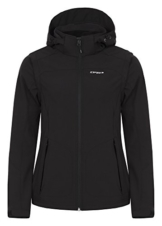 ICEPEAK Damen Softshell Jacket Leonie, Black, 36, 554805682I - 1