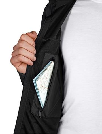 Jack Wolfskin Herren Softshelljacke Assembly Jacket Men, Black, S, 1300283-6001002 - 4